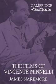 Cover of: The films of Vincente Minnelli