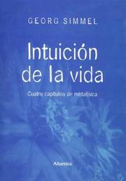 Cover of: Intuicion de La Vida
