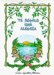 Cover of: Te Regalo Una Alegria