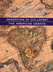 Cover of: Argentina in Collapse? |