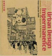 Cover of: The Urban Design of Impermance | Peter Cookson Smith