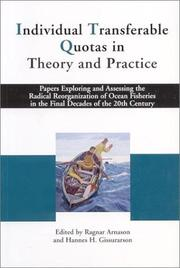 Cover of: Individual Transferable Quotas in Theory and Practice |