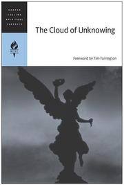 Cover of: The cloud of unknowing. |
