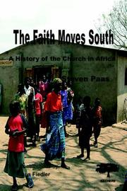 Cover of: Faith Moves South | S. Paas
