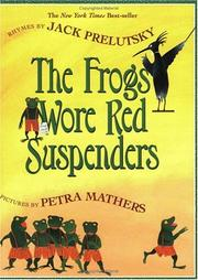 Cover of: The Frogs Wore Red Suspenders