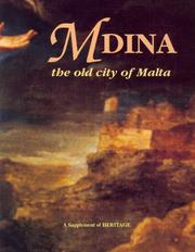 Cover of: Mdina | Louis J. Scerri