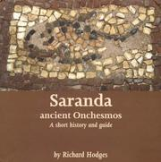 Cover of: Saranda - Ancient Onchesmos