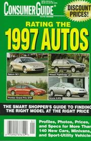 Cover of: Rating the 1997 Autos (Annual)