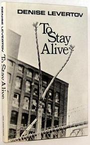 Cover of: To Stay Alive