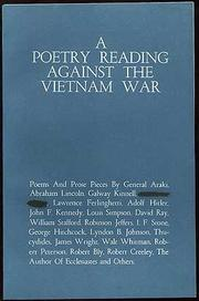 Cover of: Poetry Reading Against the Vietnam War, A