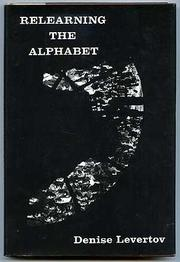 Cover of: Relearning the Alphabet