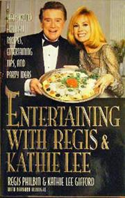 Cover of: Entertaining with Regis & Kathie Lee