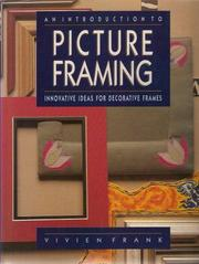 Cover of: An introduction to picture framing