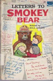 Cover of: Letters to Smokey Bear. | Bill Adler