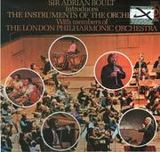 Cover of: Sir Adrian Boult introduces the instruments of the orchestra