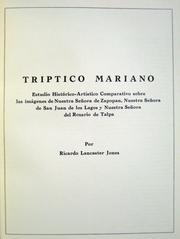 Cover of: Tríptico Mariano | Ricardo Lancaster-Jones
