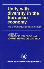 Cover of: Unity with Diversity in the European Economy |