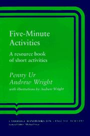Cover of: Five-minute activities