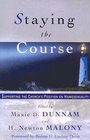 Cover of: Staying the Course