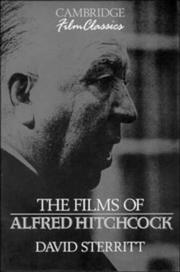 Cover of: The films of Alfred Hitchcock