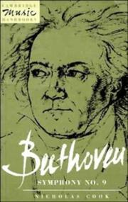Cover of: Beethoven Symphony no. 9