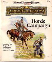 Cover of: Horde Campaign (AD&D/Forgotten Realms Accessory FR12)