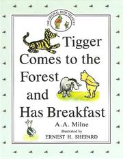 Cover of: Tigger comes to the forest and has breakfast