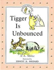 Cover of: Tigger Is Unbounced