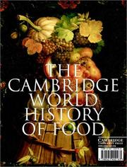 Cover of: The Cambridge World History of Food (2-Volume Set) |