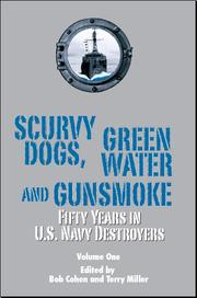 Cover of: Scurvy dogs, green water and gunsmoke |