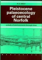 Cover of: Pleistocene palaeoecology of central Norfolk