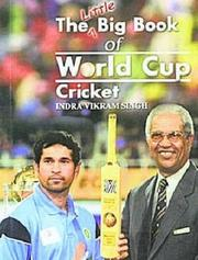 Cover of: The Little Big Book of World Cup Cricket