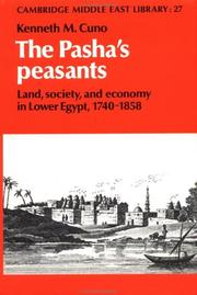 The Pasha's peasants by Kenneth M. Cuno