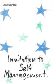 Cover of: Invitation to Self Management | Alan Stanton