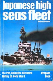Cover of: Japanese High Seas Fleet