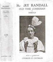 Cover of: Harry Randall, old time comedian