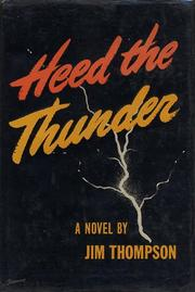 Cover of: Heed the Thunder