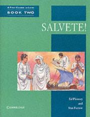 Cover of: Salvete! Book II | Ed Phinney
