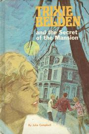 Cover of: Trixie Beldon and the Secret of the Mansion