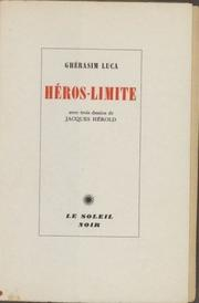 Cover of: Héro-limite
