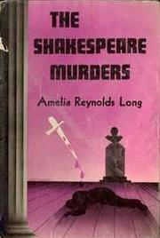 Cover of: The Shakespeare Murders