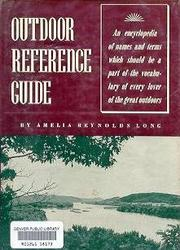 Cover of: Outdoor Reference Guide