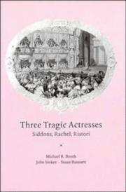 Cover of: Three tragic actresses