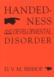 Cover of: Handedness and Developmental Disorder