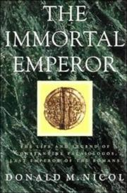 Cover of: The immortal emperor