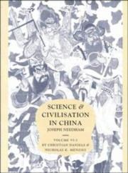 Cover of: Science and Civilisation in China  Volume 6: Biology and Biological Technology, Part 3, Agro-Industries and Forestry