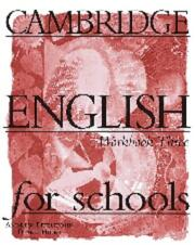 Cover of: Cambridge English for Schools 3 Workbook | Andrew Littlejohn