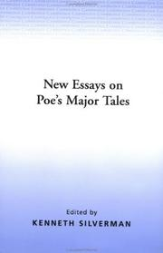 Cover of: New essays on Poe