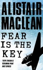 Cover of: Fear is the key