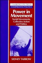 Power in Movement: Social Movements, Collective Action and Politics